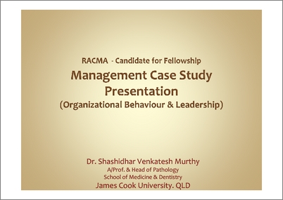 Organizational behavior case studies solved