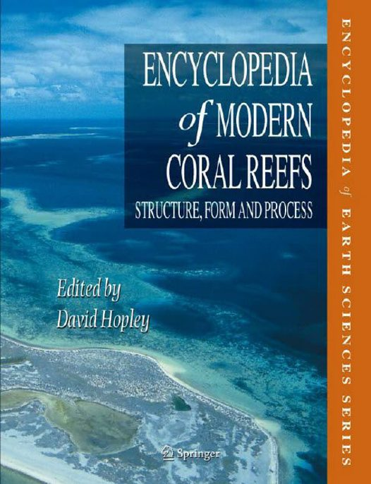 Aerial photography of coral reefs