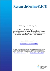 Population genetics phd thesis