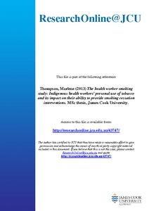 thesis on smoking cessation