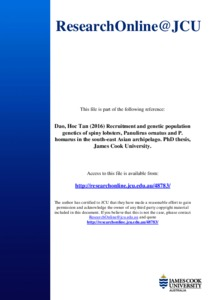 Population genetics phd thesis